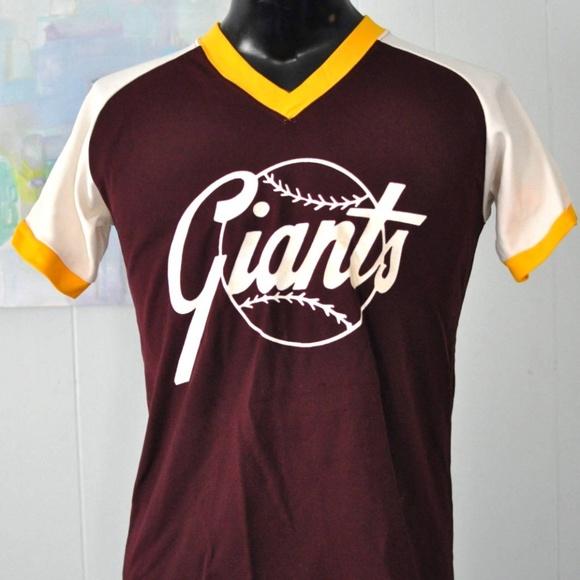 sneakers for cheap 5a1d2 5c9c3 Vintage Baseball Jersey Little League Giants